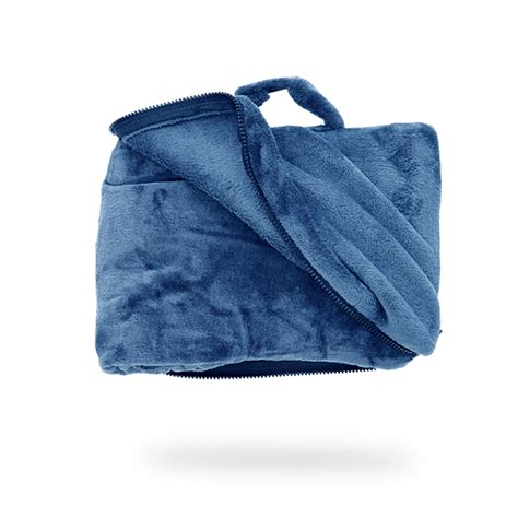 Travel Blanket And Pillow by Cabeau 4 In 1 Fold And Go Travel Blanket With Doubles