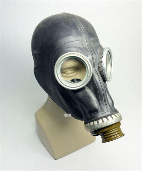 gas mask soviet russian black rubber gas mask gp 5 size 0 xsmall ebay