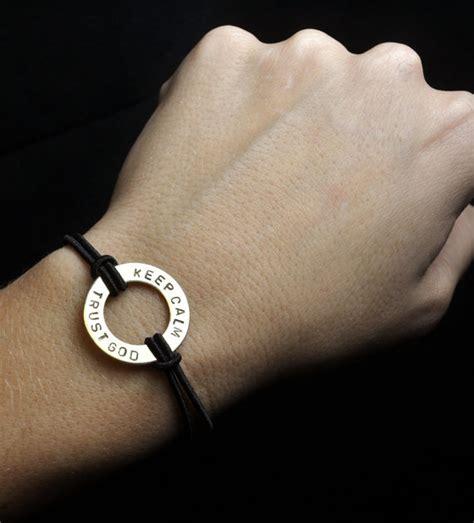 keep calm trust god the deb westman bracelet by