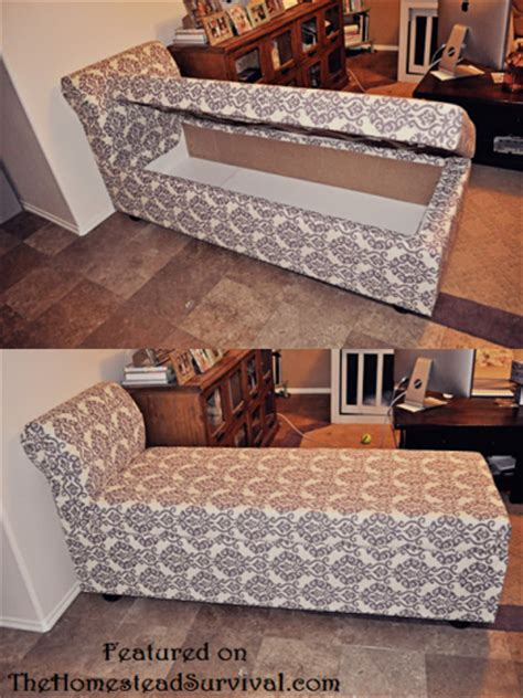 build a chaise lounge how to build a chaise lounger with hidden storage from