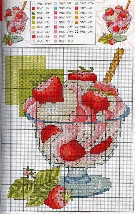 graficos punto de cruz cocina graficos punto de cruz gratis cocineros tartas dulces