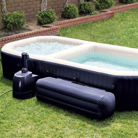 spa con piscina in spa hinchable purespa con piscina 55024 outlet piscinas