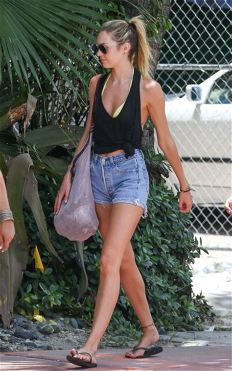 Candice Top 1 more pics of candice swanepoel tank top 1 of 15