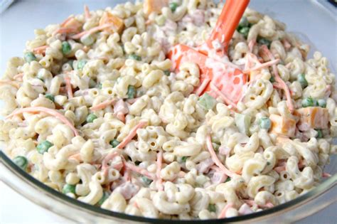 pasta salad recipe mayo fresh and fragrant pasta salad lately l 233 na