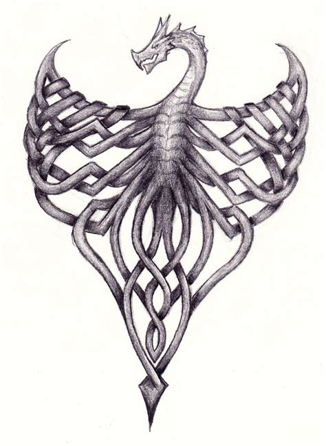 celtic dragon tattoo designs 17 best images about dragons celtic in style on