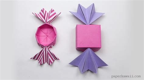 What Size Paper Do You Need For Origami - origami box paper kawaii