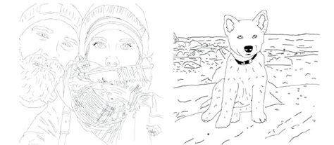 turn a photo into a coloring page how to turn a picture into a coloring page at getcolorings