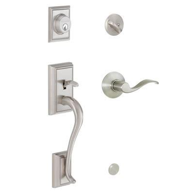 schlage front door handle schlage front door handle set shop schlage f x georgian