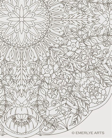 coloring pages complex large format complex coloring page by cynthia emerlye 24
