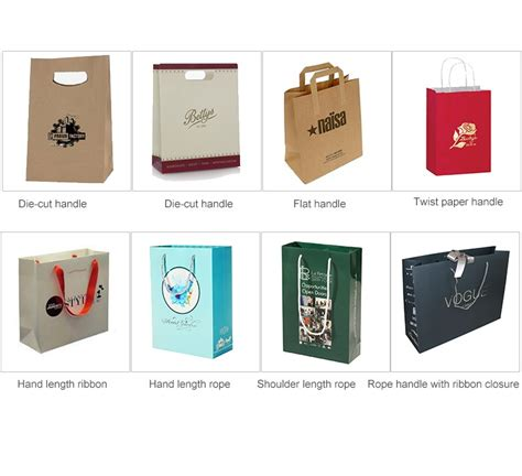 How To Make Different Types Of Paper Bags - different types design fancy customized printed paper