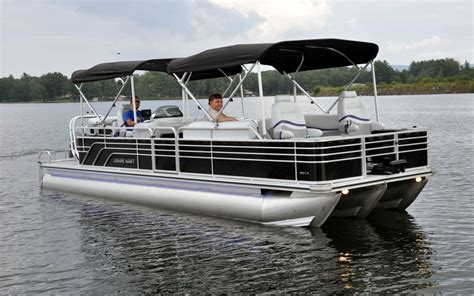 small pontoon boat manufacturers ny nc get build your own fishing boat