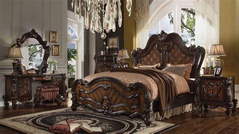 old world traditional european style bedroom furniture set 4p eastern king size bedroom set old european design