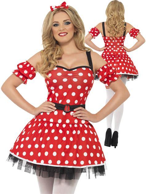 Dress Katun Mini Mouse Import madame mouse costume adults fairytale fancy dress womens mini ebay