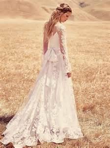 Boho bohemian chic wedding dresses for summer 2017 6