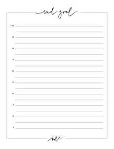 new years resolutions printable worksheets with