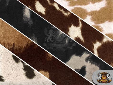 velvet suede cow print fabrics 54 quot wide sold by the