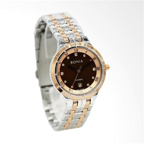 jual bonia rosso bnr148 2643 jam tangan wanita silver