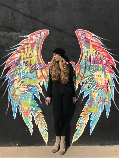 angel wings san angelo tx graffiti photography