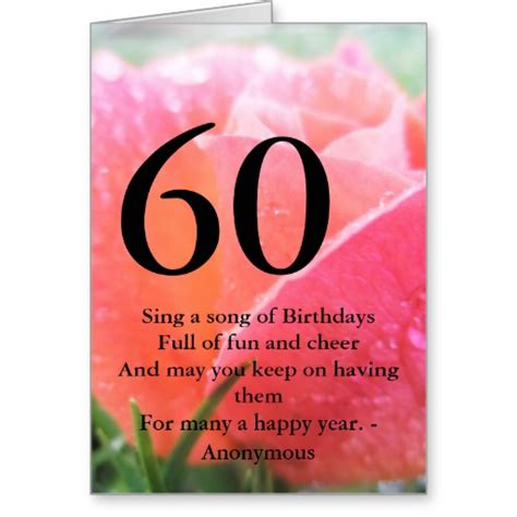 Birthday Quotes For 60th Birthday For 60th Birthday Quotes Greetings Quotesgram