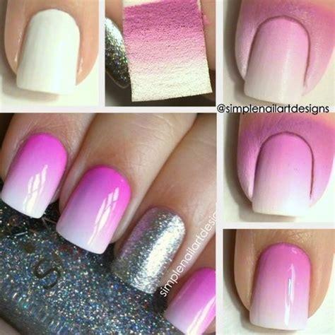 tutorial nail art degrade ombre nail art tutorial simplenailartdesigns s s