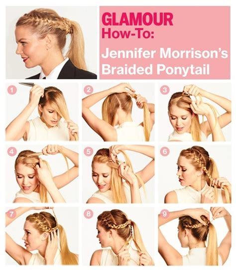 braided hairstyles tutorial videos 15 cute and easy ponytail hairstyles tutorials popular