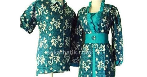 Dress Batik Sarimbit Keluarga Sa 518 gamis batik sarimbit keluarga muslim modern model terbaru toko baju batik sarimbit keluarga modern