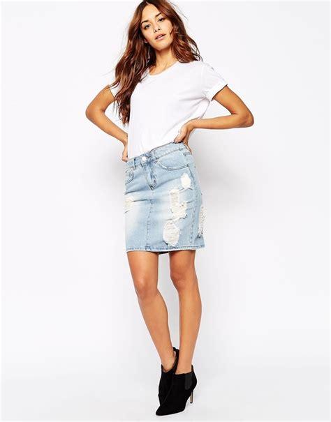 where to buy a denim skirt dress ala