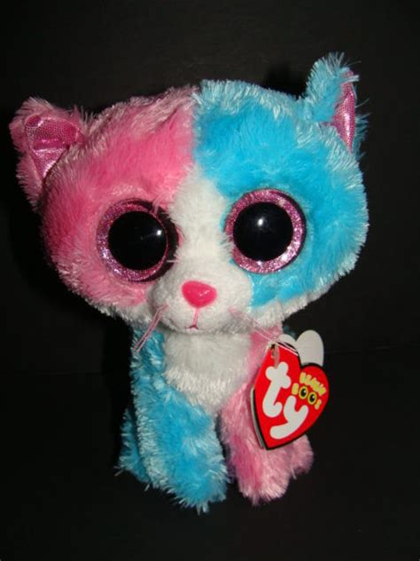 ty la1000 l reset nwt ty beanie boos 6 quot fiona cat justice exclusive boo 2014