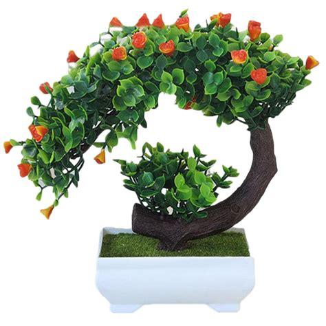 tanaman bonsai buatan  bentuk bunga mawar buatan