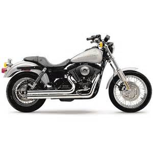 Custom Motorcycle Exhaust Systems Uk Harley Davidson Dyna Exhausts Fxd Custom Performance
