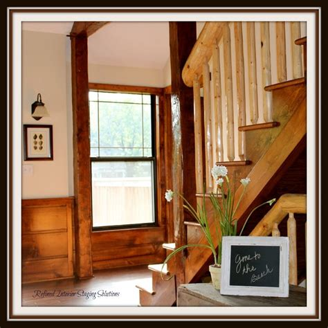 style room lees summit lees summit mo waves the lake house rustic staircase kansas city by