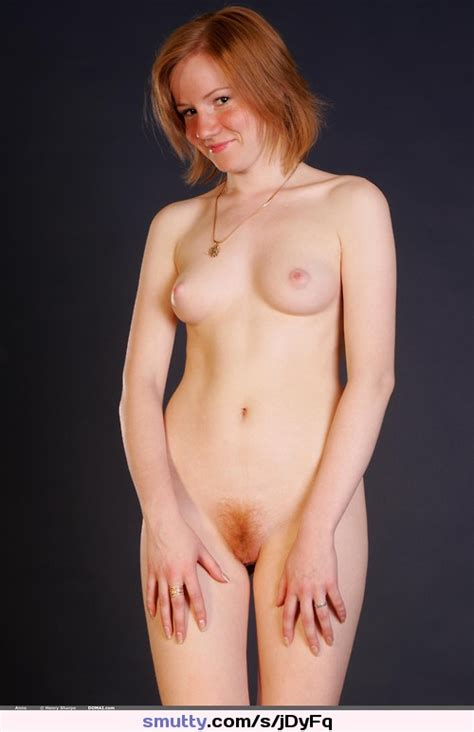Redhead Redhaired Redhair Cute Shy Girlnextdoor Nude Naked Hairy Pubichair Frontal