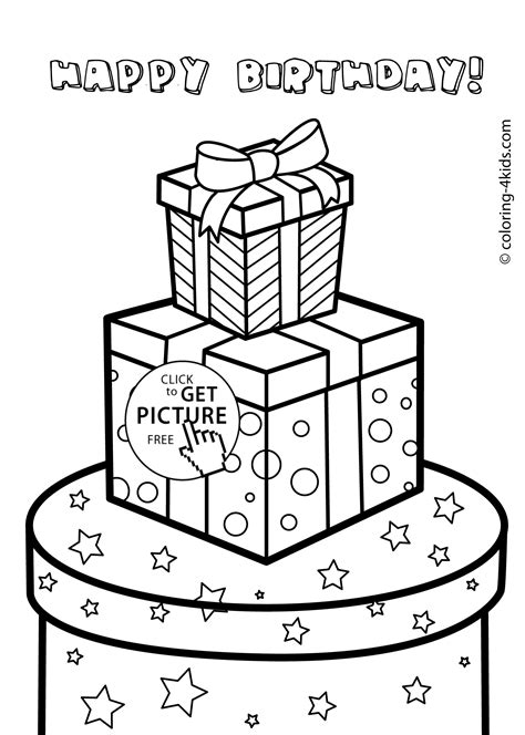 Gift Coloring Page Az Coloring Pages Gifts Coloring Pages