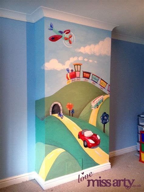 boys wall murals boy s transport wall mural wall design boys murals and wall murals