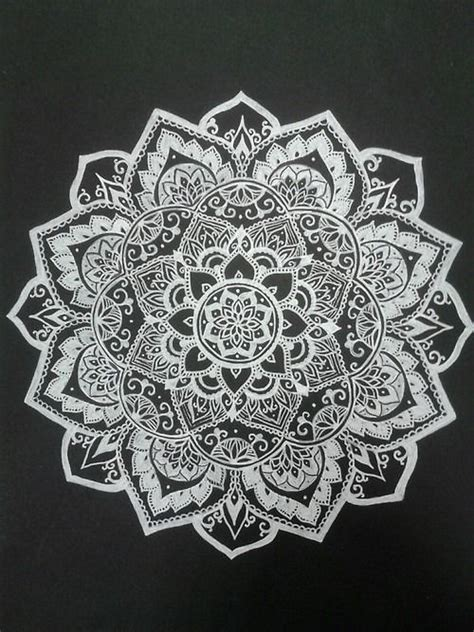 mandala pattern tumblr 25 best ideas about white mandala tattoo on pinterest