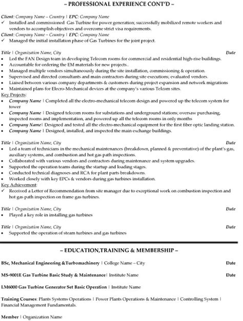 operation manager resume sle template