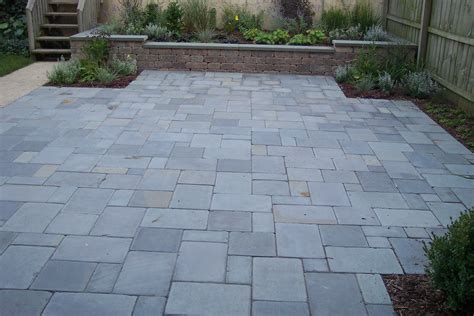 stone patio beach house stones patios london stonework country