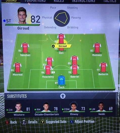 Arsenal Fifa 17 | fifa 17 play on online arsenal community fan forum
