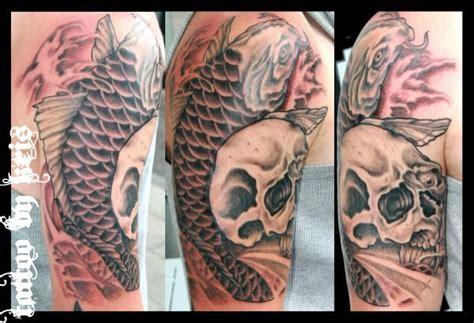 tattoo koi fish skull koi fish skull by kretoney on deviantart
