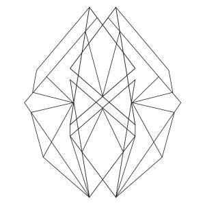 abstract geometric coloring page abstract geometric 1 coloring page