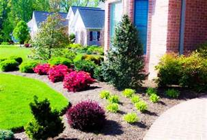 Simple Landscape Ideas Simple And Easy Front Landscaping Ideas Homefurniture Org