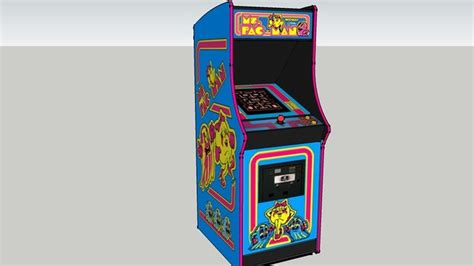 Ms Pac Arcade Cabinets