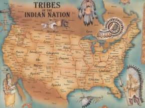 indian tribes of map tribes of indian nation map us mappery