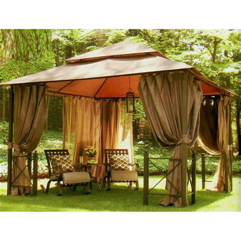 canopy gazebo harbor gazebo 12 x 12 replacement canopy garden winds canada