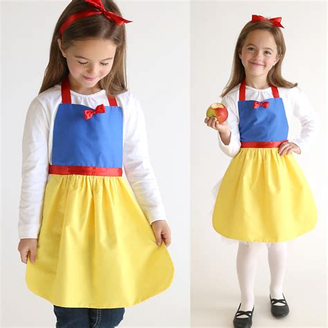 pattern for snow white dress free sewing pattern for snow white princess dress up apron