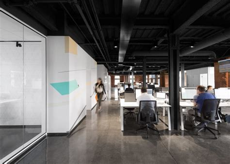 high tech office design themoxie co lightspeed headquarters by acdf architecture montreal