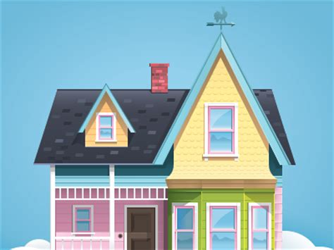 up house by shumihin dribbble