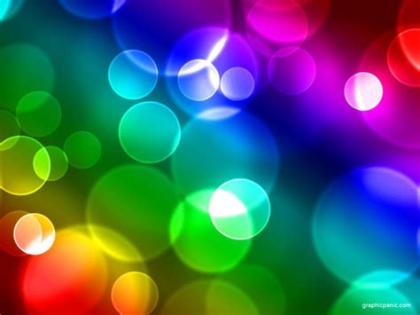 rainbow powerpoint template free keynote backgrounds rainbow bokeh background
