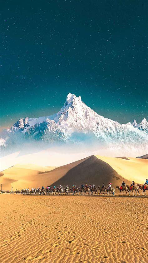 snow  desert iphone wallpaper iphone wallpapers
