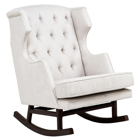 tufted rocking chair white baby nursery excellent baby nursery room of white glider